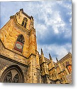 Cathedral Of Colmar, Alsace,france Metal Print