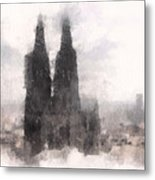 Cathedral Of Cologne Metal Print