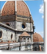 Cathedral Of Florence Metal Print