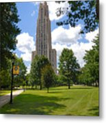 Cathedral Of Learning University Of Pittsburgh Metal Print