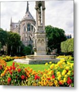 Cathedral Of Notre Dame Metal Print