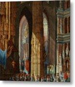 Cathedral Of San Miguel Metal Print