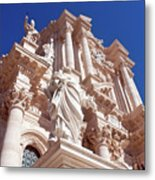 Cathedral Of Siracusa Metal Print