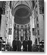 Cathedral Of St. John In Nyc Metal Print