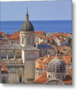 Cathedral Of The Assumption Of The Virgin In Dubrovnik Metal Print