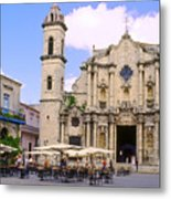 Cathedral Of The Virgin Mary Of The Immaculate Conception Metal Print