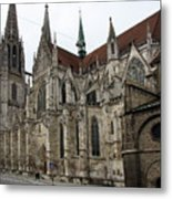 Cathedral Regensburg Metal Print