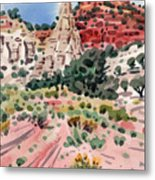 Cathedral Rock Metal Print by Donald Maier