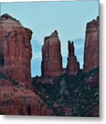 Cathedral Rock Moon 081913 H Metal Print