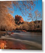 Cathedral Rock Sedona Arizona Metal Print by Larry Marshall