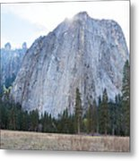 Cathedral Rocks Metal Print