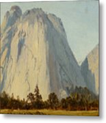 Cathedral Rocks  - Yosemite Valley Metal Print