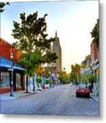Cathedral Square Gallery On Dauphin Street Mobile Metal Print