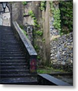 Cathedral Stairs Metal Print