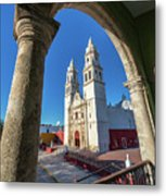Cathedral Viewed From Balcony Metal Print
