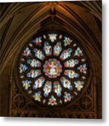 Cathedral Window Metal Print