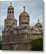 Cathedral,varna,bulgaria Metal Print