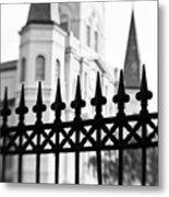 Catheral Basilica - Bw Metal Print