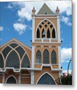 Catholic Church In Ibarra Metal Print
