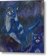 Cats And Reiki Metal Print