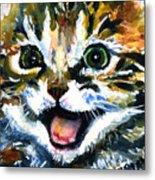 Cats Eyes 15 Metal Print