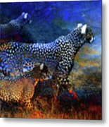 Cats On The Prowl Metal Print