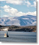 Catskill Mountains With Lighthouse Metal Print