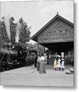 Catskill Railroad Metal Print