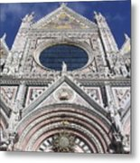 Cattedrale Di Siena Metal Print