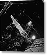 Catwalk Trapeze Artist Circus Aberdeen South Dakota 1965 Metal Print