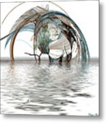 Caught In A Net Metal Print