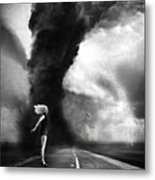 Caught In The Storm Metal Print
