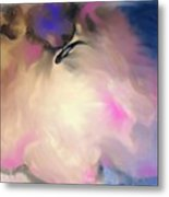 Caught In The Wave Metal Print