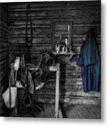 Cavalry Bunkhouse Metal Print