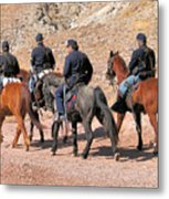 Cavalry Rides Metal Print