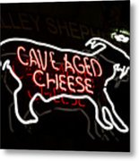 Cave Aged Cheese Metal Print