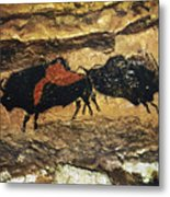 Cave Art: Bison Metal Print
