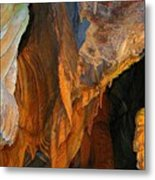 Cave At Cheddar Gorge  Metal Print by Jen White
