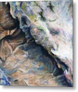Cave Of Many Colors Metal Print