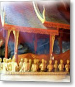 Cave Of The Bat Temple 2 Metal Print