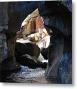 Cave Of Wonder Metal Print