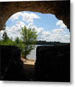 Cave With A View. Metal Print