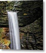 Cavern Cascade In Watkins Glen Metal Print