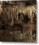 Cavern Reflections Metal Print
