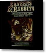 Caverns And Rabbits Metal Print