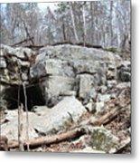 Caves At Lake Guntersville Metal Print