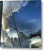 Cayman Nite Sky Metal Print