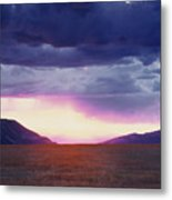 Cdt Sunset Metal Print
