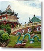 Cebu Taoist Temple Metal Print