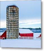 Cedar Brook Farm Metal Print